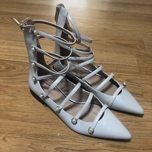 Zara gladiator shoes